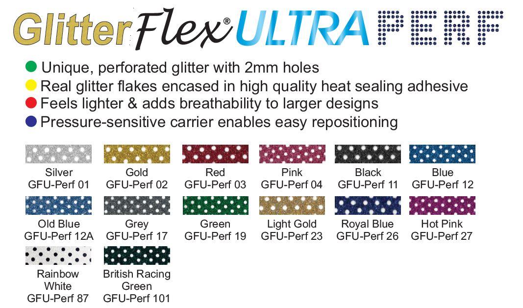 GlitterFlex Ultra - New Perforated flavour!