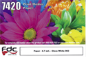 "Picture of 30"" Poster Paper Gloss White"